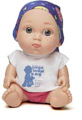 Muñeco Baby Pelón Paula Echevarría Juegaterapia 149