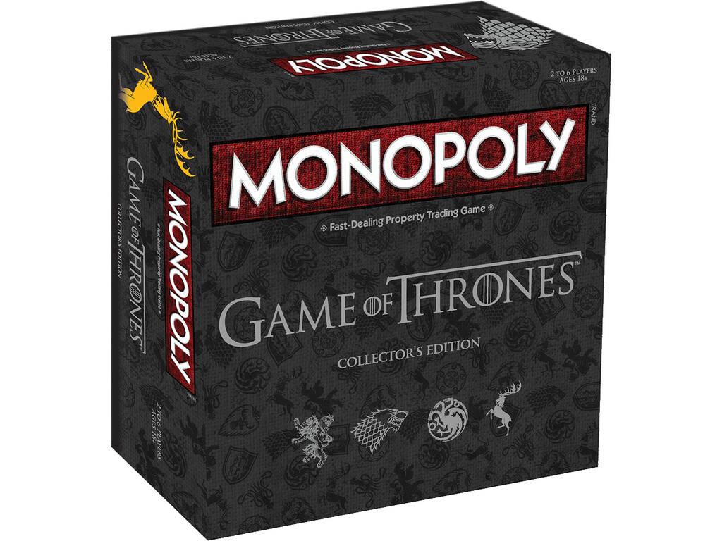Monopoly Jogo de Tronos Edição de Colecionador Eleven Force 63447