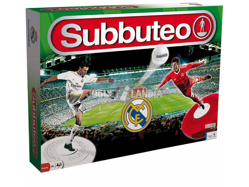 Subbuteo Real Madrid Eleven Force 11060