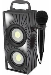 Mini Stereo Bluetooth con Microfono Nera Lexibook BTP155BKZ