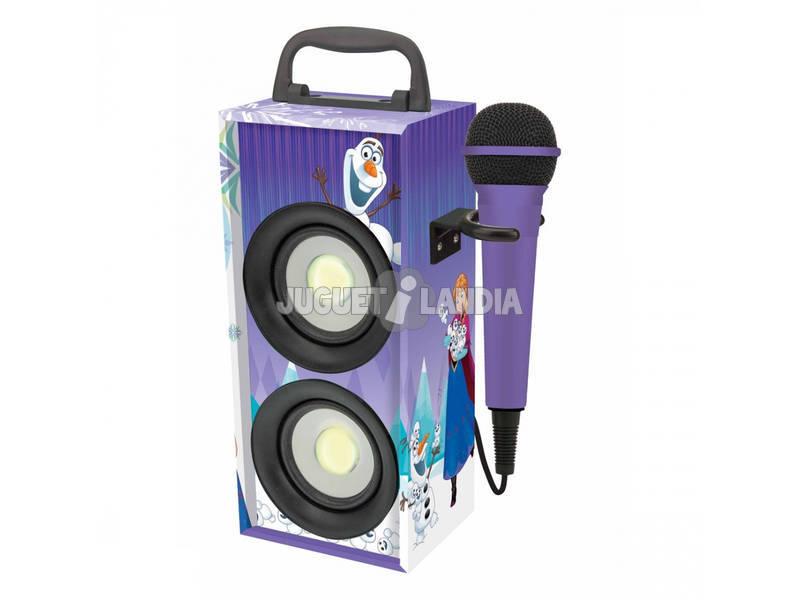 Frozen Mini Tour Sonore Bluetooth avec Microphone Lexibook BTP155FZZ