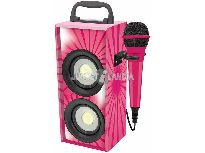 Mini Tour Sonore Bluetooth avec Microphone Lexibook BTP155PKZ