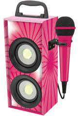 Mini Torre de Sonido Bluetooth con Microfono Lexibook BTP155PKZ