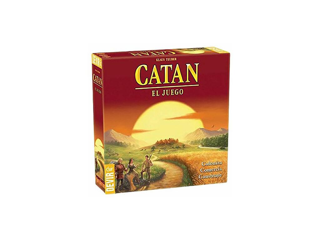 Catan, Gioco Da Tavolo Devir BGCATAN