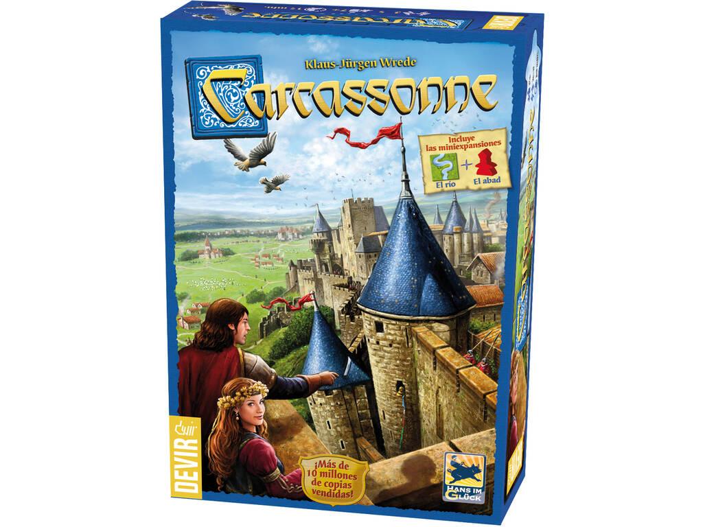 Carcassonne, Gioco da tavolo Devir BGCARCAS