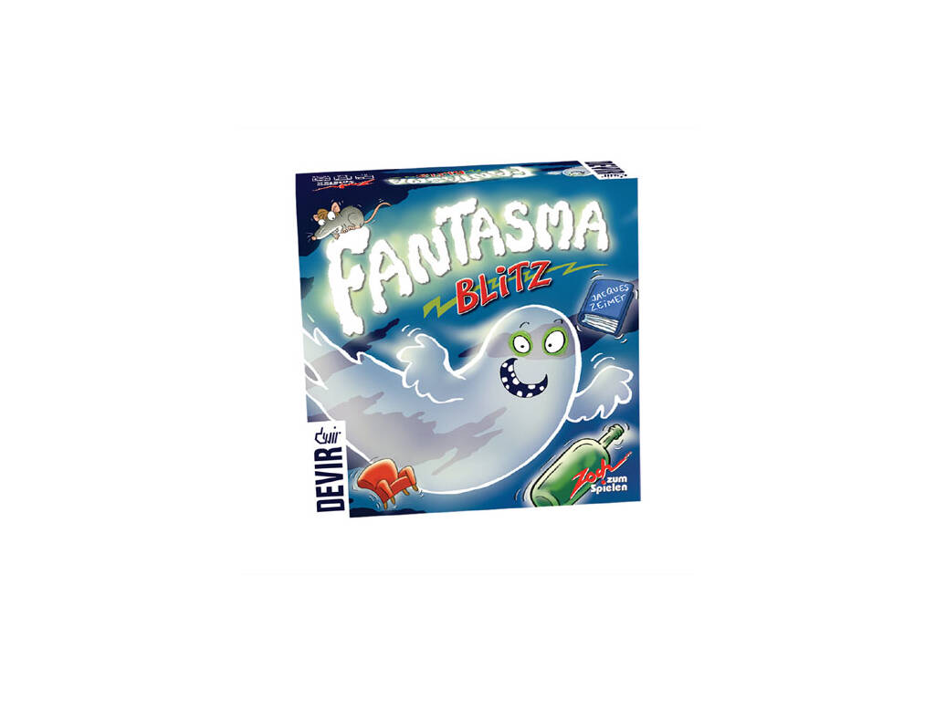 Juego De Mesa Fantasma Blitz Devir BGBLITZ