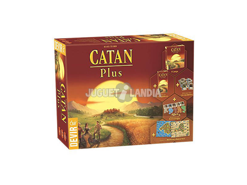 Catan Plus, Set di Tavolo Devir BGCATPLUS