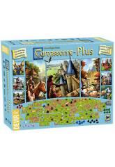 Juego De Mesa Carcassonne Plus Devir BGCARPLUS3