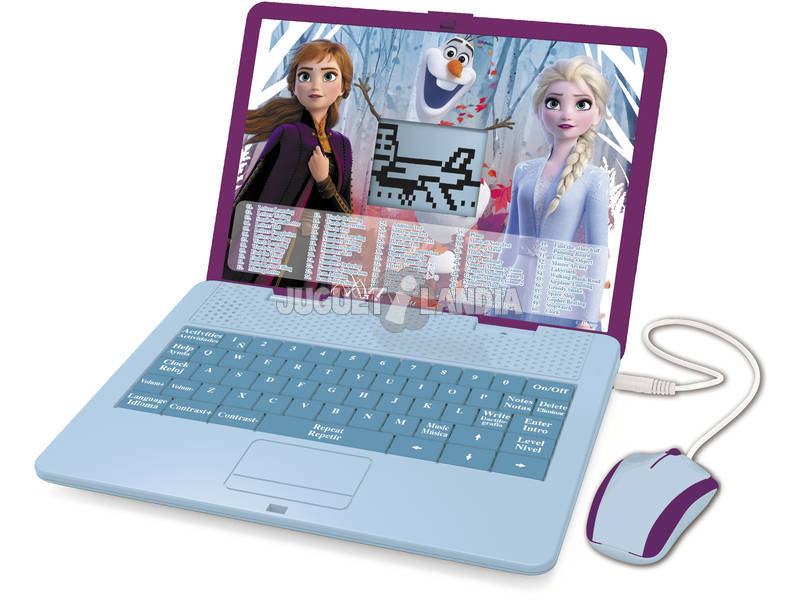 Frozen 2 Ordinateur Portable Bilingue Éducatif Lexibook JC595FZi2