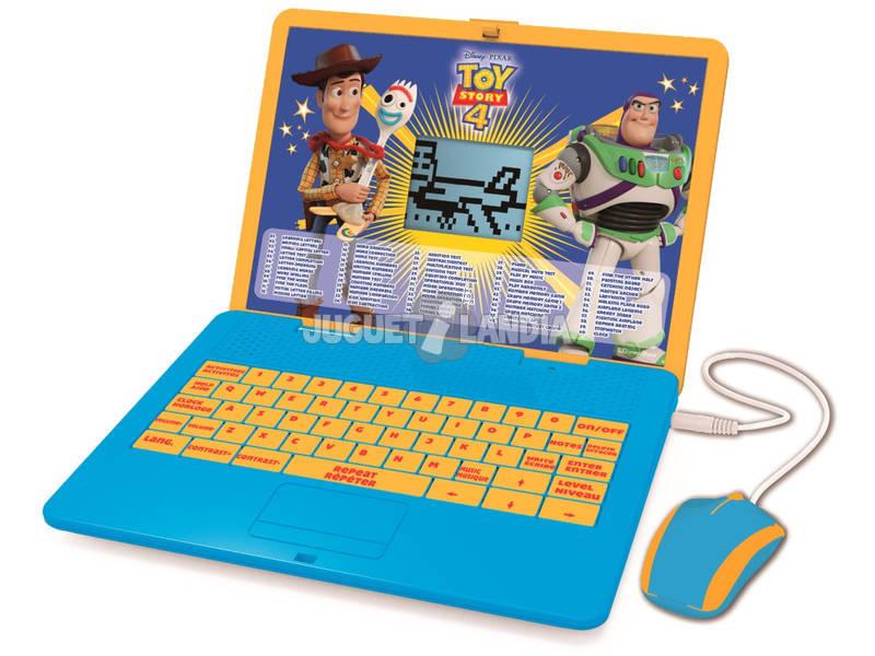 Toy Story 4 Laptop Bilingüe Educativo Lexibook JC595TSi2