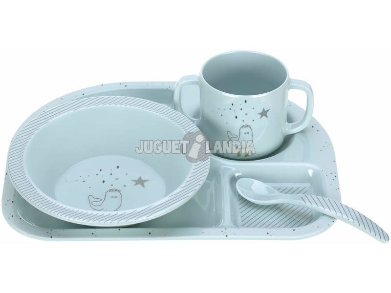 Set Comidas Melamina Magic Seal Olmitos 1310011466