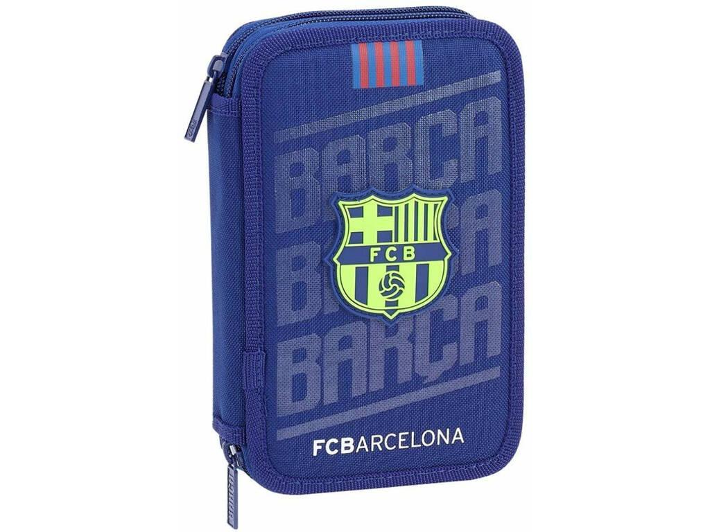 Plumier DobleF.C. Barcelona 28 peças Safta 411826854