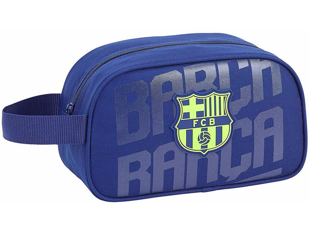 Trousse de Toilette F.C. Barcelona avec Poignée Adaptable au Chariot Safta 811826248