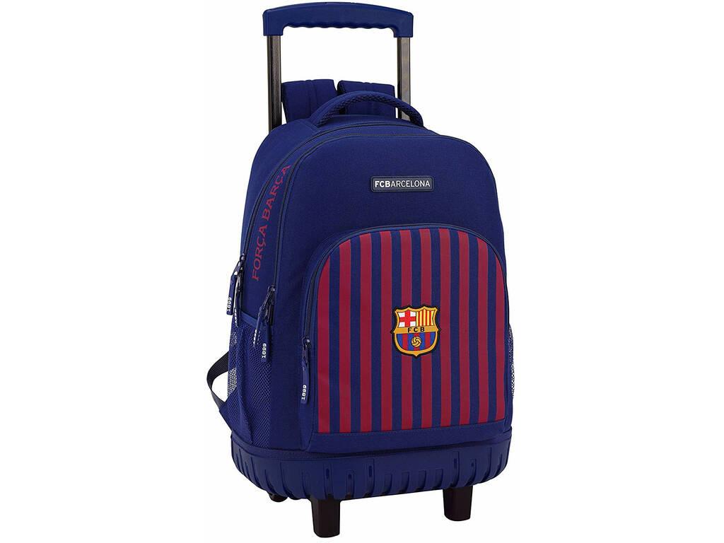 Mochila con Carro Compact F.C. Barcelona Safta 611829818