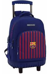 Sac à Dos avec Chariot Compact F.C. Barcelone Safta 611829818