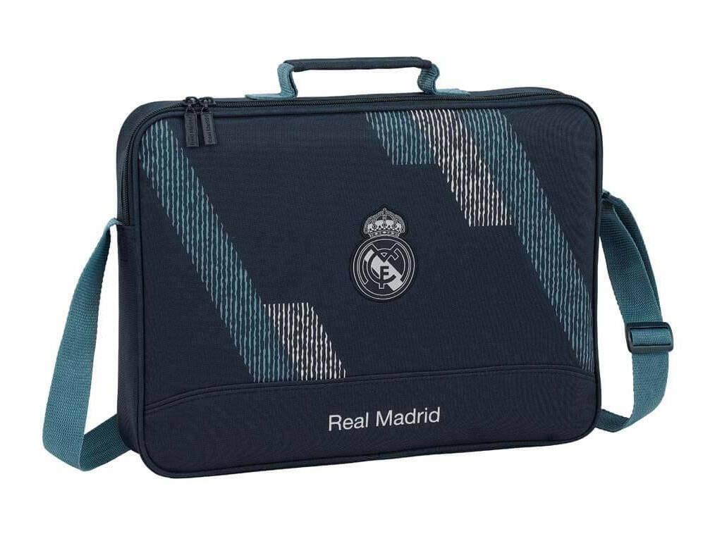Real Madrid Cartera Extraescolares Dark Grey Safta 611834385