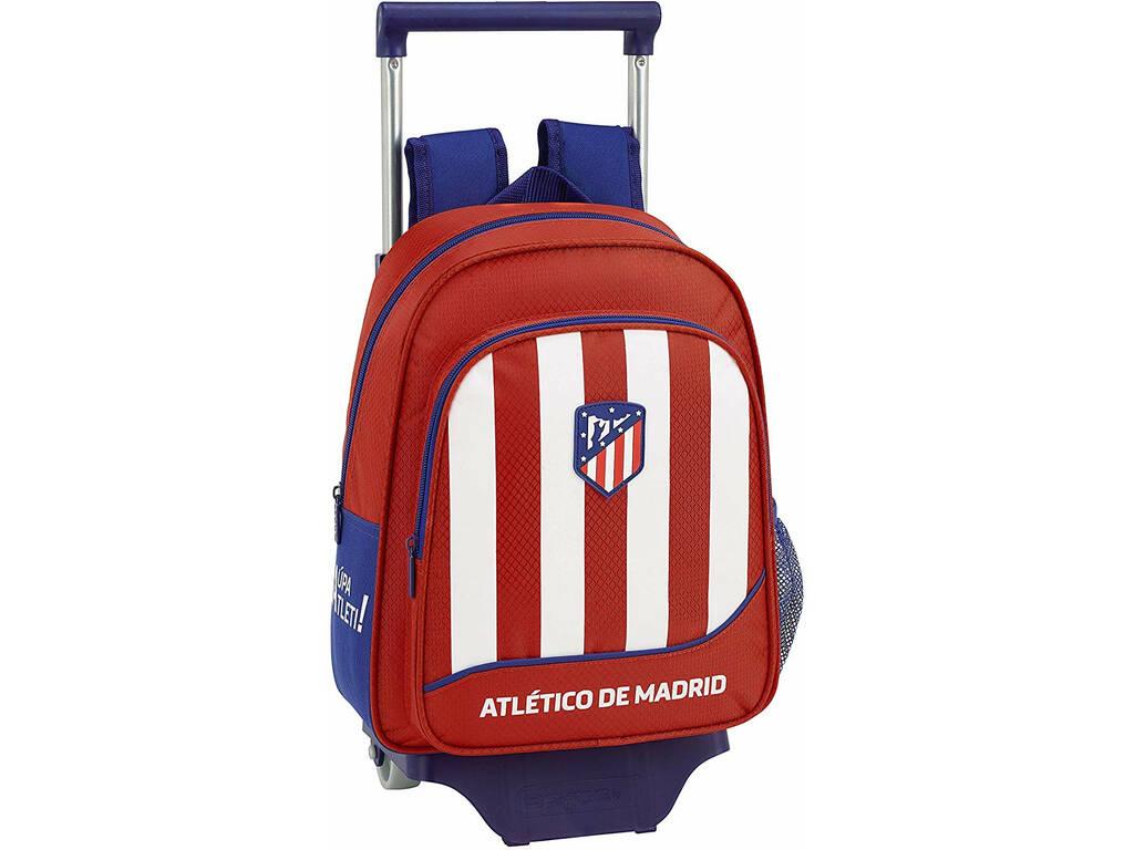 Zaini con Carrello 705 Atlético de Madrid 1° Kit Safta 611845020