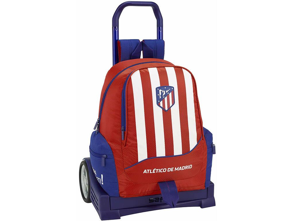 Mochila com Carro Evolution Atlético de Madrid Safta 611845860