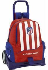 Mochila con Carro Evolution Atlético de Madrid Safta 611845860