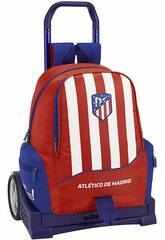 Zaino con Carrello Evolution Atlético de Madrid Safta 611845860