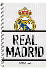 Bloc-notes Couverture Rigide 80 f. Real Madrid Safta 511854066