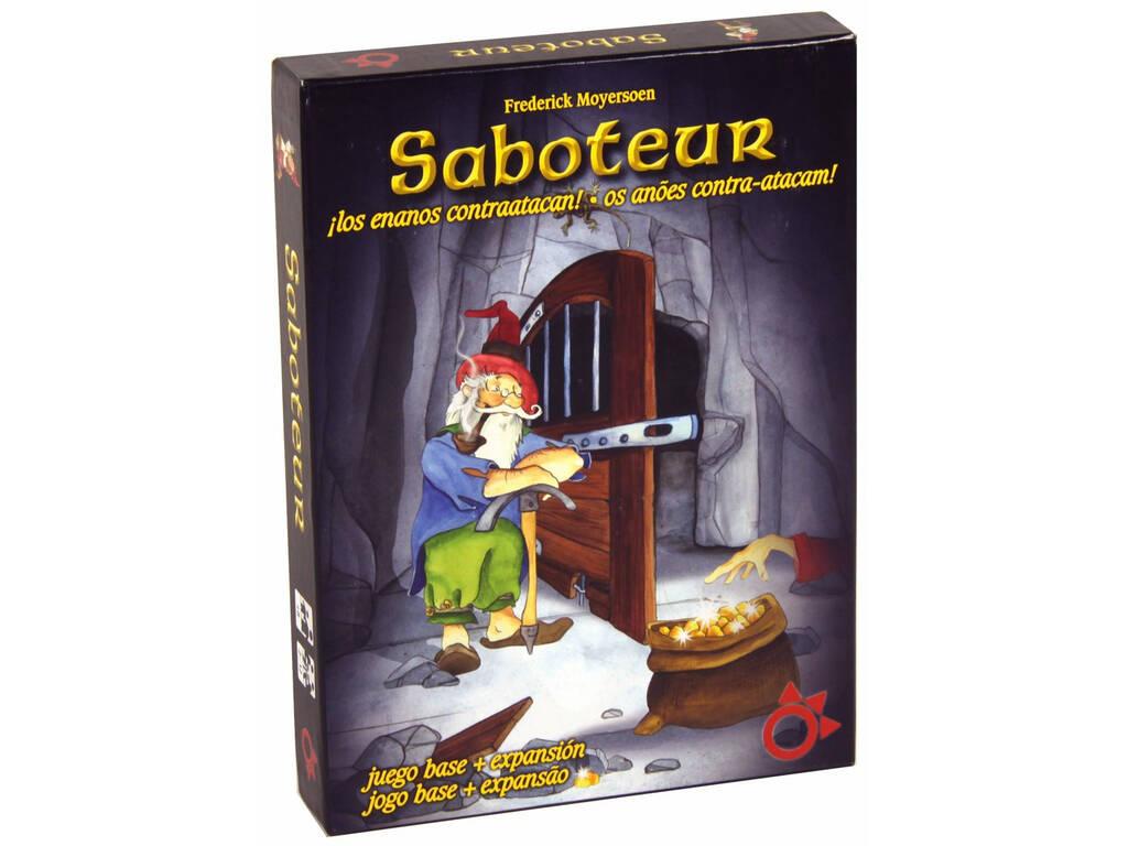 Saboteur Deluxe Basico + Expansion Mercurio A0022