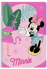 imagen Libreta Folio Tapas Duras 80 h. Minnie Safta 511912066