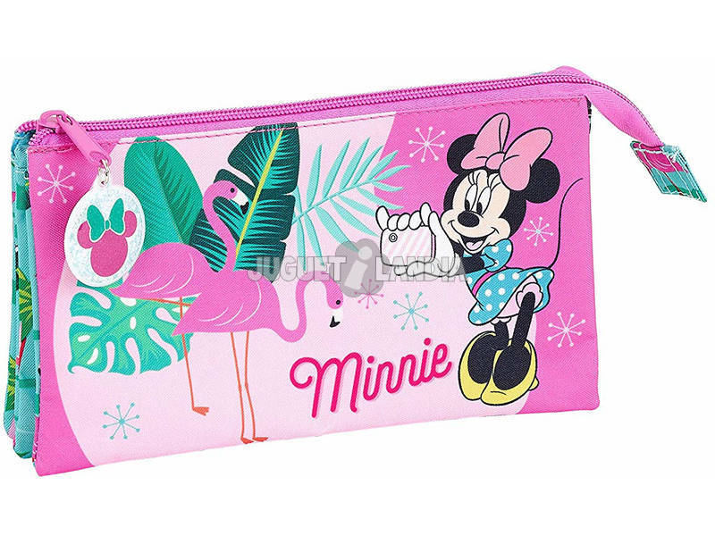 Astuccio Triplo Minnie Mouse Palms Safta 811912744