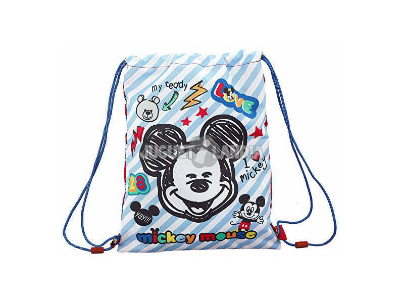 Saco Plano Junior Mickey Mouse Maker Safta 611914855