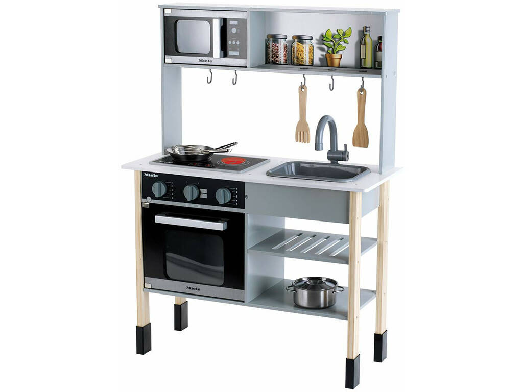 Miele Cocina Madera Midi Color Blanco Klein 7199