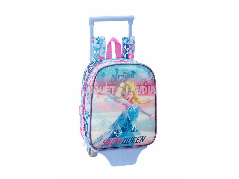 Mochila con Carro Frozen Ice Magic Safta 611915280