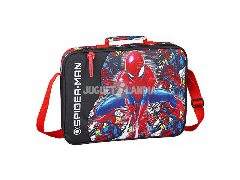 Cartera Extraescolares Spiderman Super Hero Safta 611943385