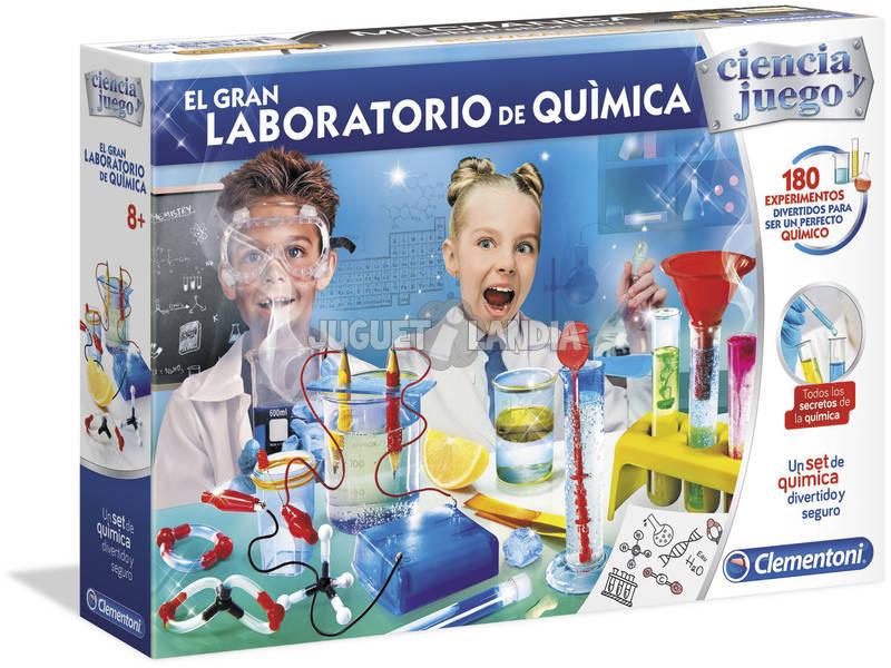 El Gran Laboratorio De Química Clementoni 55323