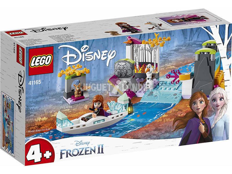 Lego Frozen 2 Spedizione sulla Canoa di Anna 41165