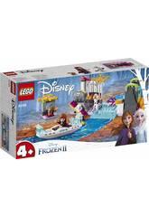Lego Frozen 2 Expedição em Canoa de Anna 41165