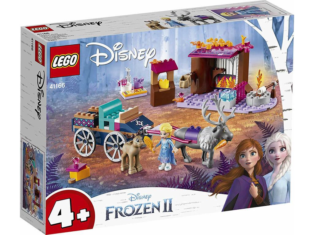 Lego Frozen 2 Aventura en Carreta de Elsa 41166