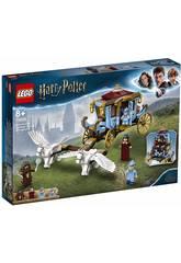 imagen Lego Harry Potter Carruaje Beauxbatons Llegada a Howarts 75958
