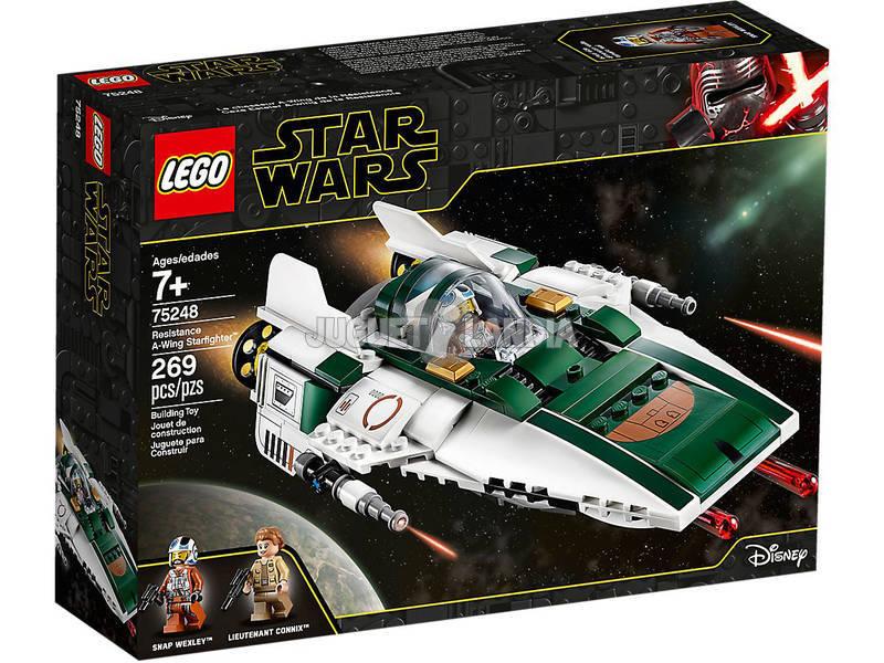 Lego Star Wars Caza Estelar Ala-A de la Resistencia 75248