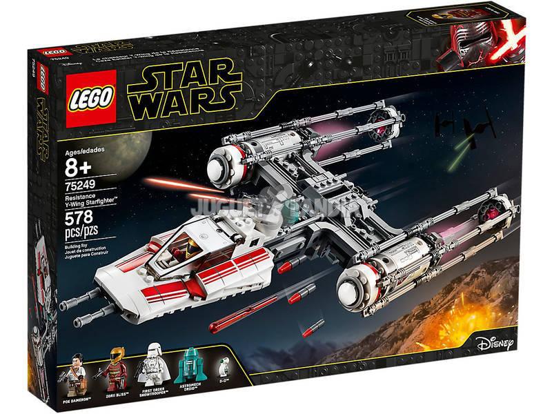 Lego Star Wars Y-Wing Starfighter della Resistenza 75249
