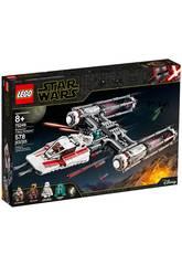 Lego Star Wars Caza Estelar Ala-Y de la Resistencia 75249
