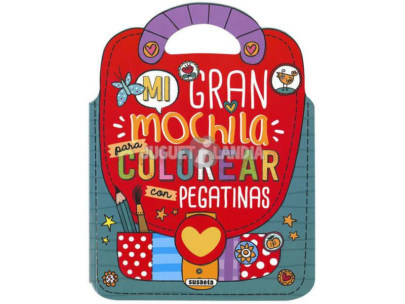 Mi Mochila De Pegatinas Susaeta S3414