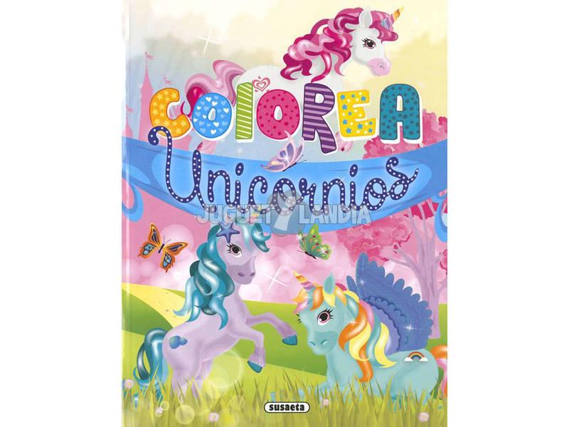 Pinta Unicórnios Susaeta S6057