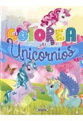 Colorea Unicornios Susaeta S6057