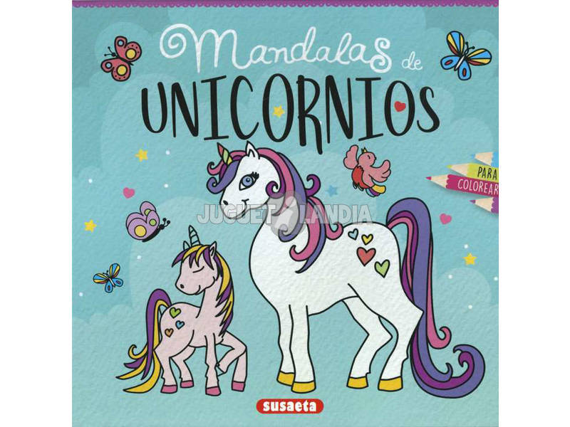 Mandalas De Unicornios Para Colorear Susaeta S6058