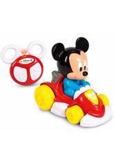 Coche Radio Control Mickey Mouse Teledirigido Clementoni 17232