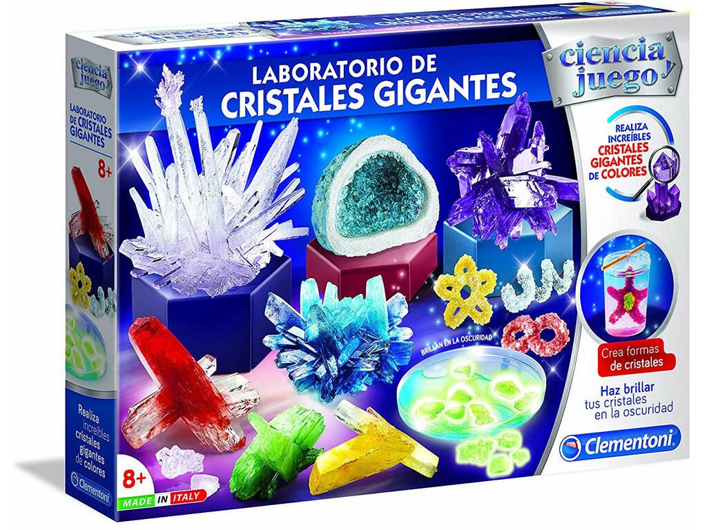Laboratorio De Cristales Gigantes Clementoni 55322