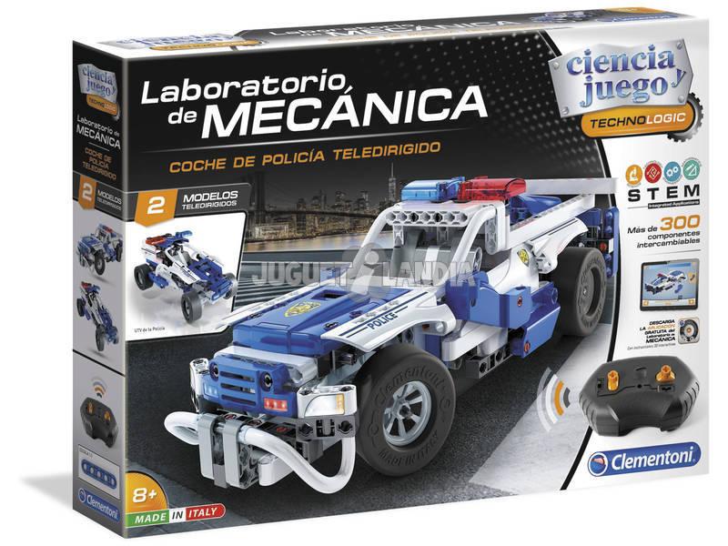 Laboratorio Di Meccanica Auto Radiocomandata Macchina Della Polizia 55333