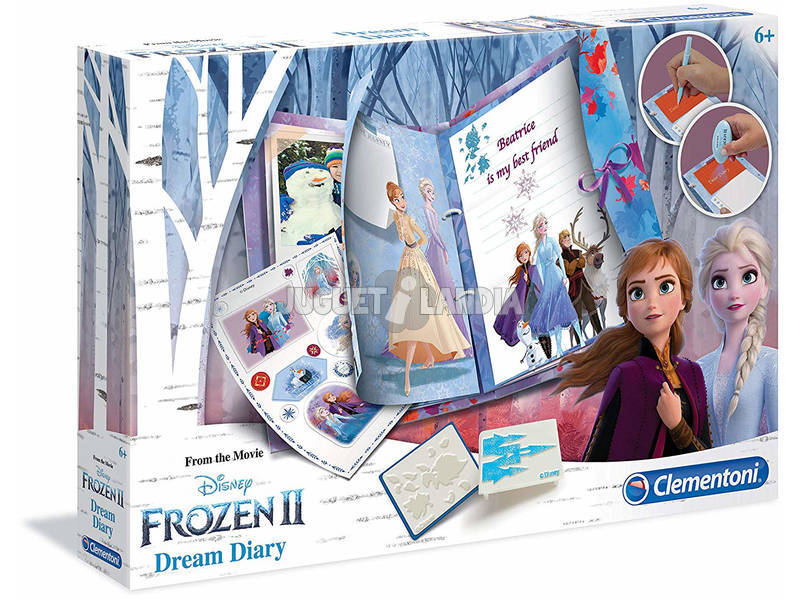 Disney Frozen 2 Dream Diary Clementoni 18518