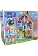 Riesiges Holzhaus Peppa Pig Bandai CO07004
