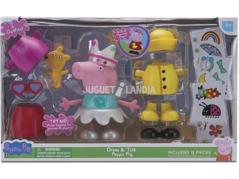 Peppa Pig Vestidos Divertidos Bandai JW0617
